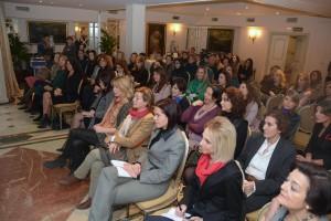 La conferencia de Marta Robles, en el hotel Orfila, fue todo un éxito de convocatoria.