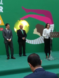 """Luz Casal recibió una """"Estrella"""" de la Comunidad de Madrid."""