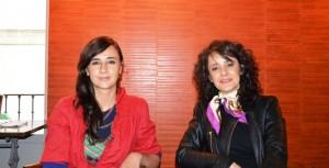 Susana Lorente y Helena Trujillo.