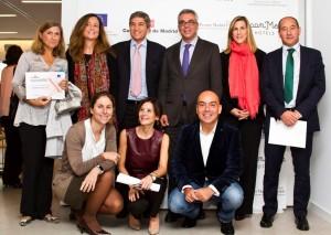 De izquierda a derecha, desde arriba: Pilar Pascual Gómez-Cuétara, María Fernández, Jesús Iturbe, Carlos Izquierdo, Itziar Galdós, Enrique Montes, Elena Betés, Laura Ruiz de Galarreta y Kike Sarasola.