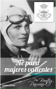 """Beatriz Parreño diseñó este """"Té para Mujeres Valientes"""", con un intenso matiz de naranja, especialmente pensado para la """"mujer AMMDE""""."""