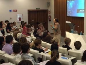 Margarita Villegas puso el acento en la transformación cultural que supone la inmersión en un entorno 4.0