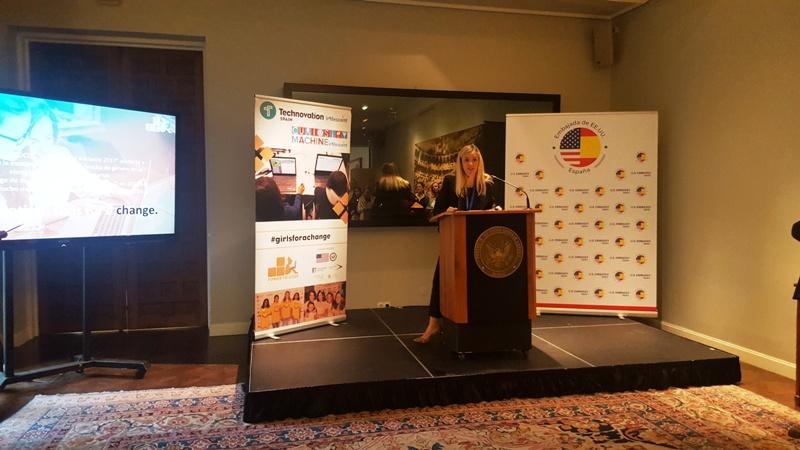 Ana Duque-Higgins, Agregada Cultural de la Embajada de EEUU en España